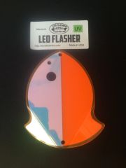 Medium Leo Flasher Orange Moon Jelly