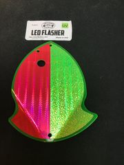 Large Leo Flasher Pink SS Chart Crush on Chart