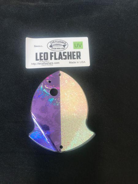 Small Leo Flasher Purple Glow
