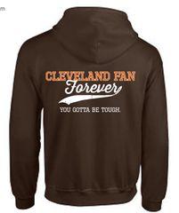 CLE Fan Forever Zip Fleece Hoodie