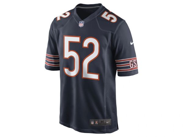 buy online 6479e 11c6f Nike NFL Game Jersey Chicago Bears Khalil Mack Jersey