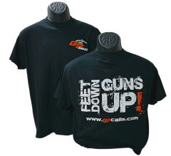Black-Feet Down Guns Up Tee-Shirt