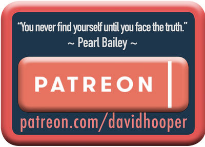 Patreon button. 401 Show by GenpopMedia. Where Bible meets Science.  New World Order, Illuminati