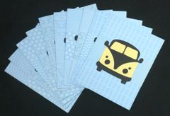 VW BUS NOTE CARDS