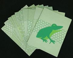 FROG NOTE CARDS