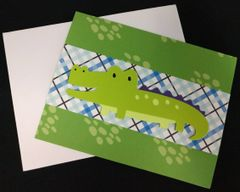 Alligator Note Card 01