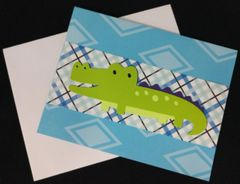 Alligator Note Card 02