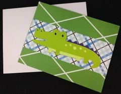 Alligator Note Card 04