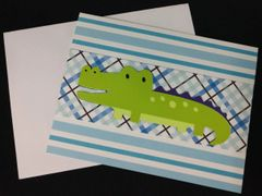 Alligator Note Card 05