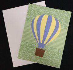 Hot Air Balloon Note Card 02