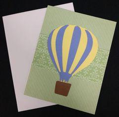 Hot Air Balloon Note Card 04