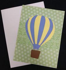 Hot Air Balloon Note Card 05