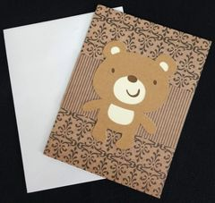 Bear Cute Note Card 01