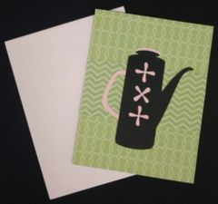 Coffeepot Note Card 03
