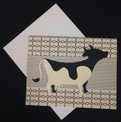 Cow Note Card 01
