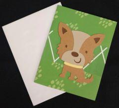 Dog Cute Note Card 01