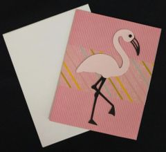 Flamingo Pink Note Card 02