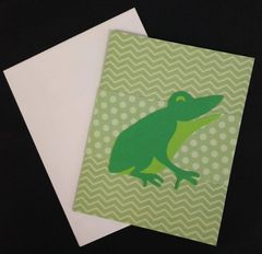 Frog Note Card 01