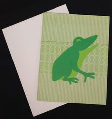 Frog Note Card 02