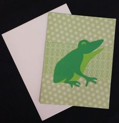 Frog Note Card 03