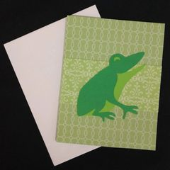Frog Note Card 04