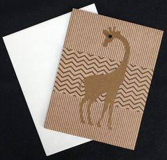 Giraffe Note Card 01