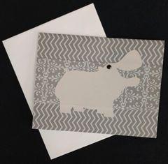 Hippopotamus Note Card 01