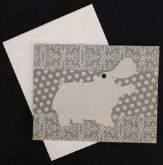 Hippopotamus Note Card 02