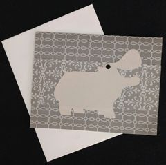 Hippopotamus Note Card 03
