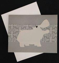 Hippopotamus Note Card 04