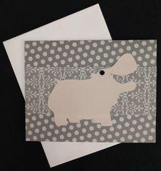 Hippopotamus Note Card 05