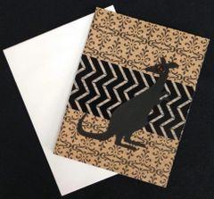 Kangaroo Note Card 01