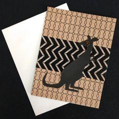 Kangaroo Note Card 02