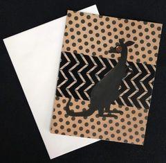 Kangaroo Note Card 05