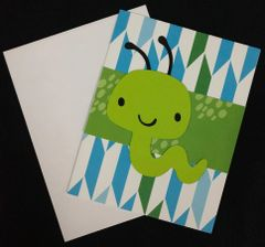 Worm Note Card 04
