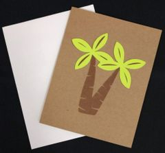 Palm Tree Note Card 01