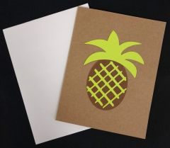 Pineapple Note Card 01