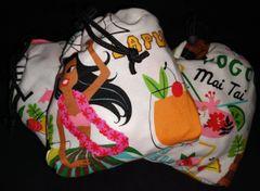 Resuable Shopping Bag Hawaiin Print