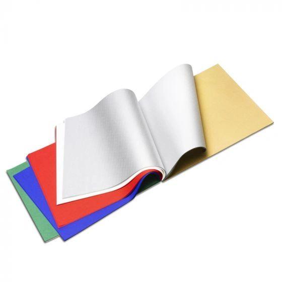 """Japanese Silk Paper 9.44 x 9.44"""" (24x24cm)- FSC - Christmas colors"""