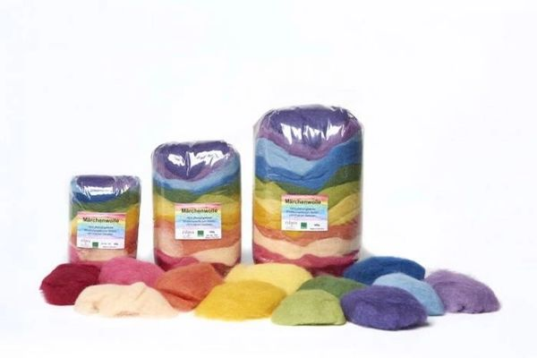 Filges Plant-dyed Fairy Tale Wool - 12 Assorted Colors - 50 g