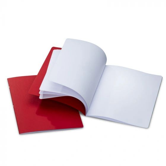 """Composition Book 8.27""""x11.69"""" Red"""