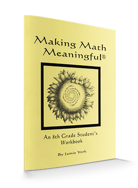 Making Math Meaningful: An 8th Grade Student's Workbook by Jamie York