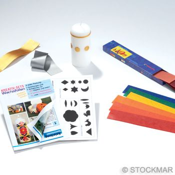 "Stockmar Creative Set ""Candles"""