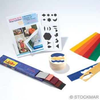 "Stockmar Decorating Wax Creative Set ""Splint Box"""