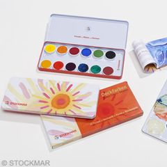 Stockmar Opaque Colour Paint Box 12 colours
