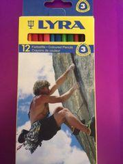 Lyra Triangular Comfort Grip Color Pencils 12 ct