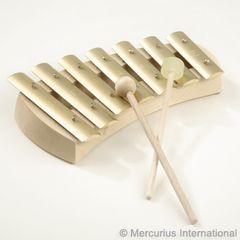 Auris glockenspiel pentatonic - rounded -7 tone
