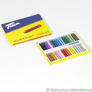 Filia oil crayons 36 colours assorted