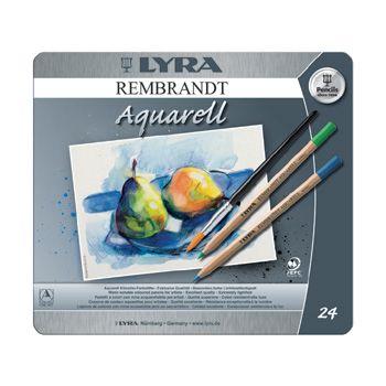 Lyra Rembrandt aquarelle pencil - 24 colours