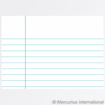 Composition Book - 21x29.7 cm portrait format - lined - 33 lines each page, 1 book